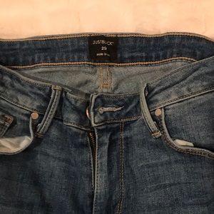 Jeans - just black